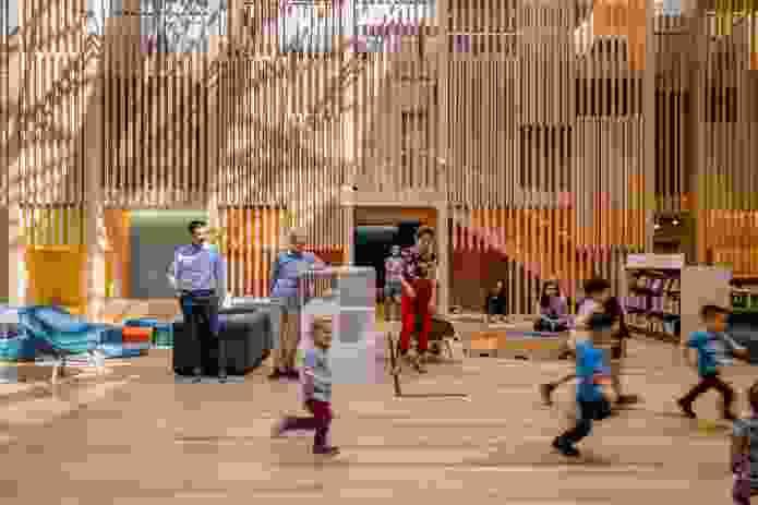 Pauline Gandel Children's Quarter by Architectus and Schmidt Hammer Lassen.