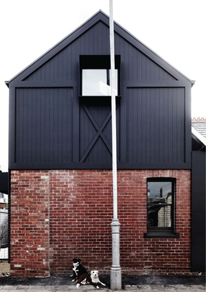 The two-storey extension is based on the way children draw houses.