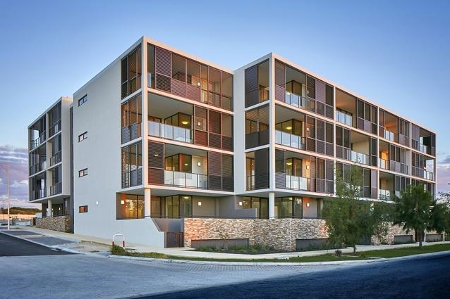Helm Apartments by Cameron Chisholm Nicol.