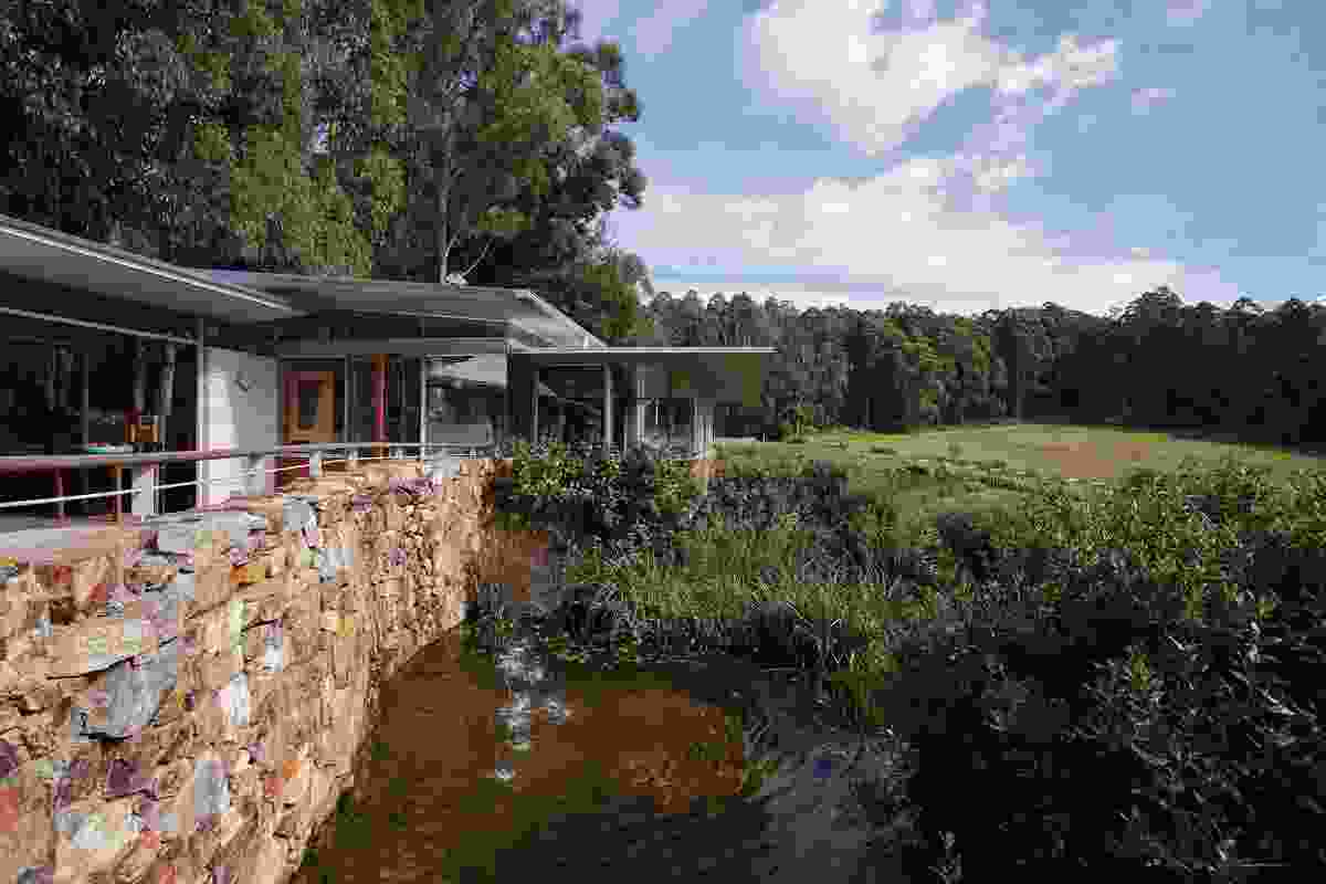 Fleurtys Cafe and Farm Walks by Susan Small Landscape Architects.
