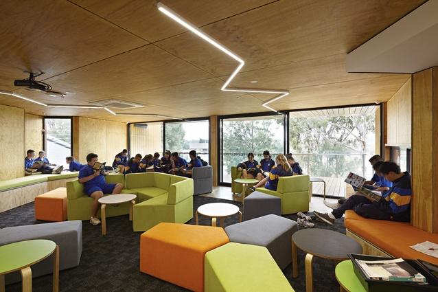 Pamela Coyne Library by Branch Studio Architects.