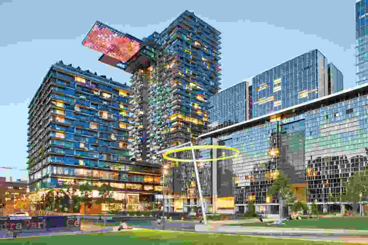 One Central Park, Sydney, by Ateliers Jean Nouvel.