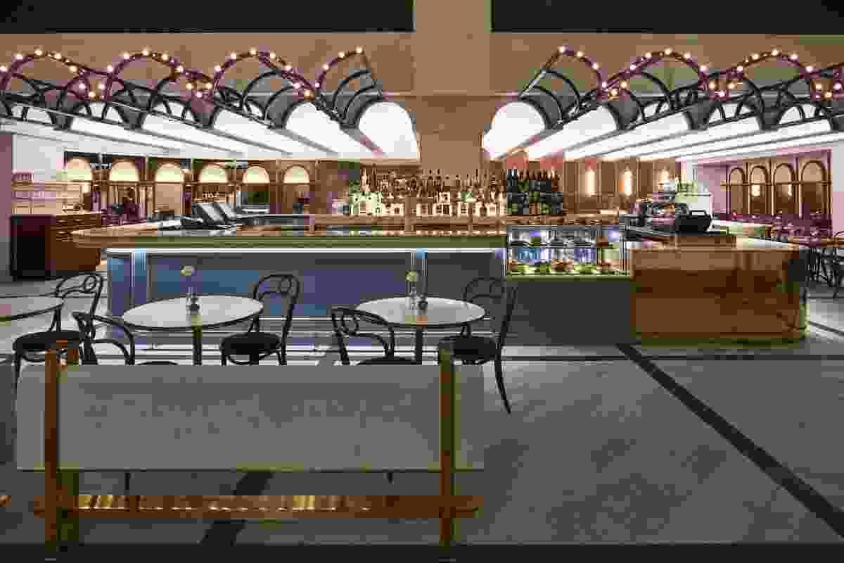M&G Café and Bar, The Star Gold Coast by Luchetti Krelle.