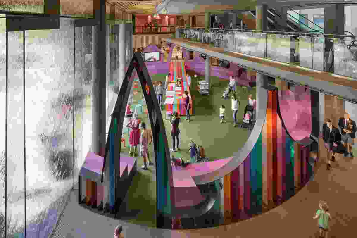 NGV Community Hall by McBride Charles Ryan.