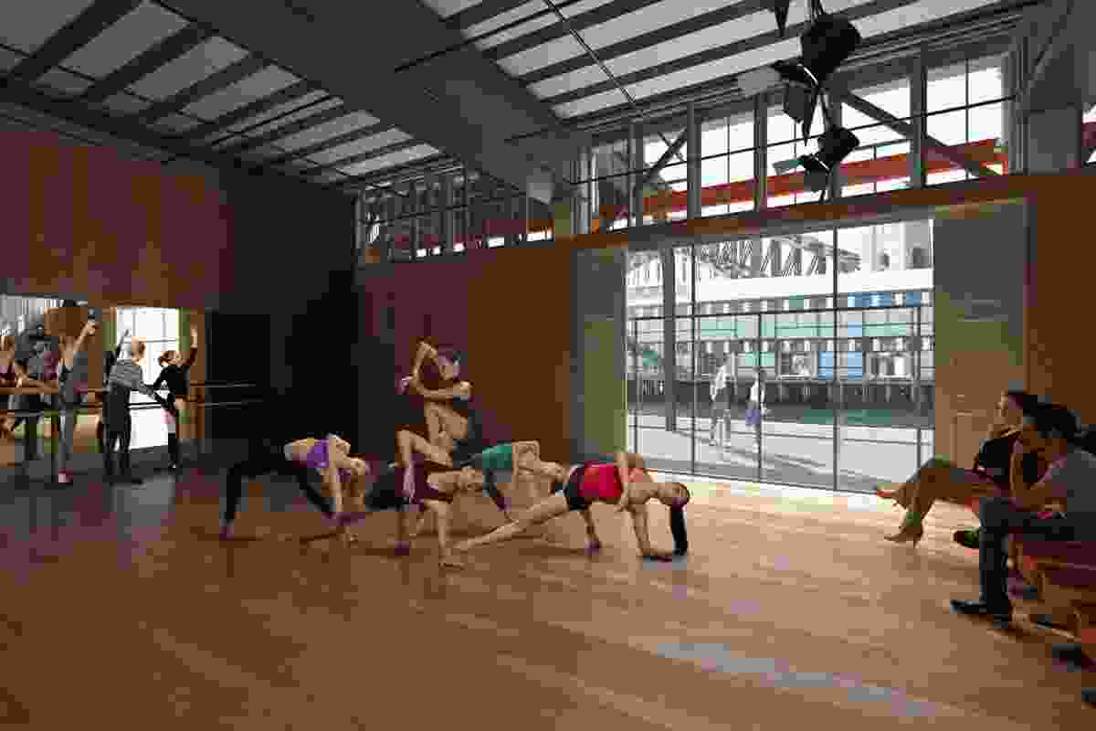 Sydney Dance Company, Studio 5 of the the proposed Walsh Bay Arts Precinct redevelopment by Tonkin Zulaikha Greer.