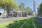 Plan to convert road lane to park in Melbourne's Southbank unveiled
