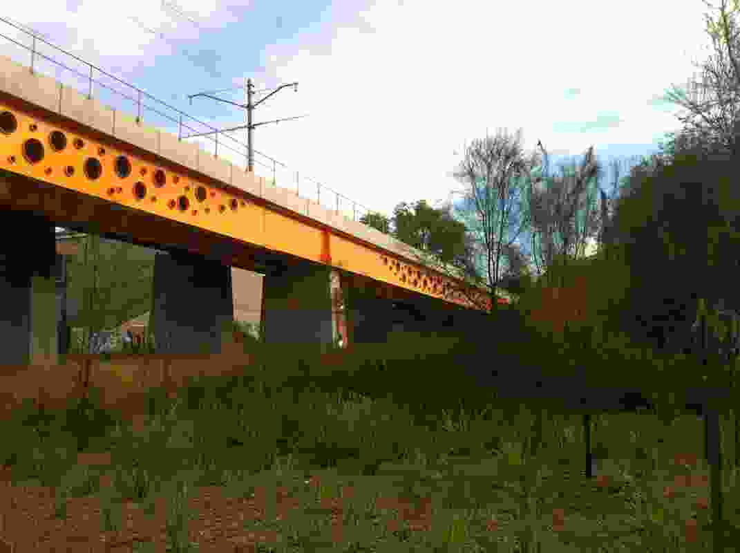 Bridge Park - This space was converted from a derelict site which was closed to the public.  Powerlines have been undergrounded; weed species removed and grassy woodland vegetation restored.