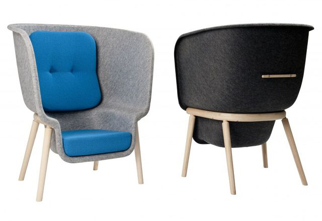 Pod Privacy chair by Benjamin Hubert.