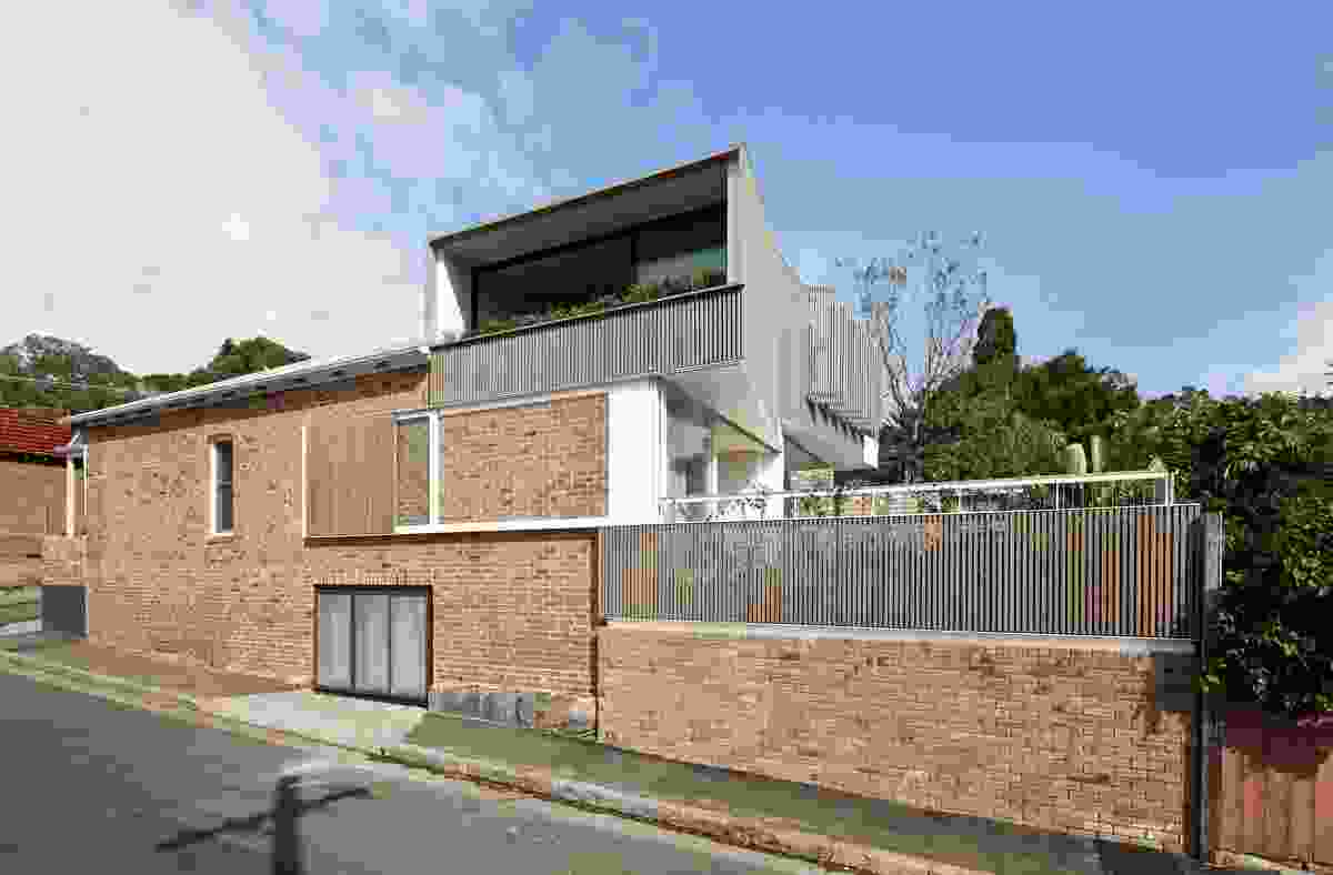 Balmain Houses by Benn + Penna Architecture.