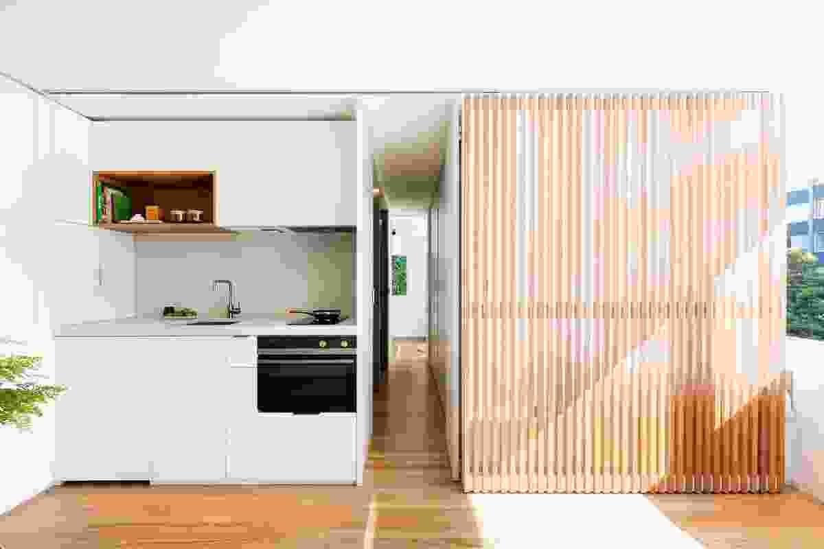 Boneca Apartment by Brad Swartz Architects.