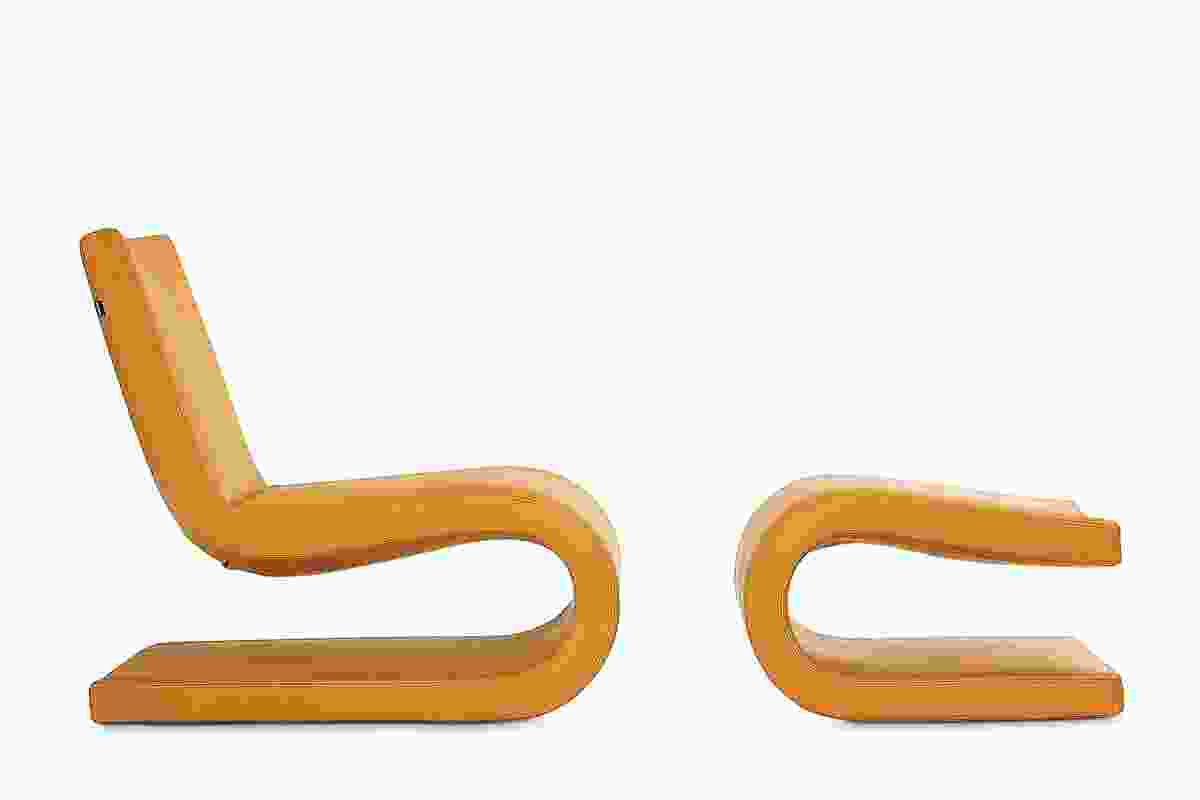 Poliform Snake armchair.