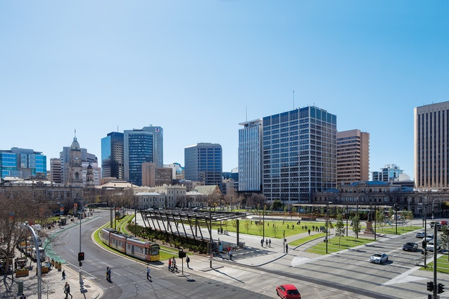 Victoria Square / Tarndanyangga – Stage 1 by Adelaide City Council and Taylor Cullity Lethlean