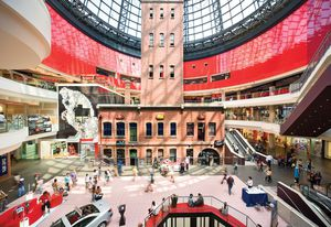 Melbourne Central by Kisho Kurokawa with Bates Smart and McCutcheon and Hassell, redeveloped by ARM Architecture and NH Architecture.
