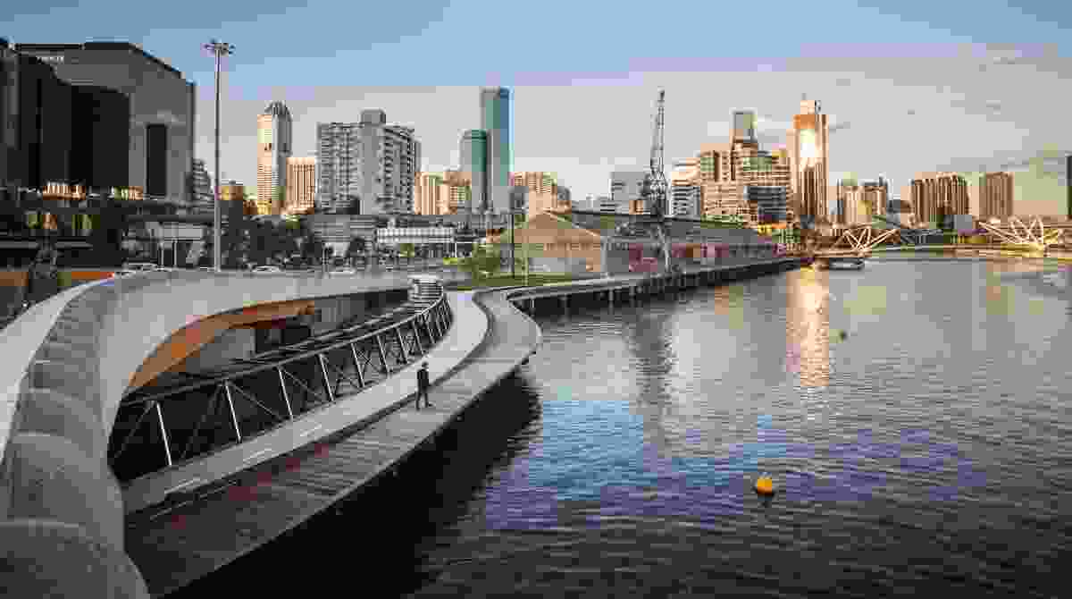 Linking Docklands by City of Melbourne.