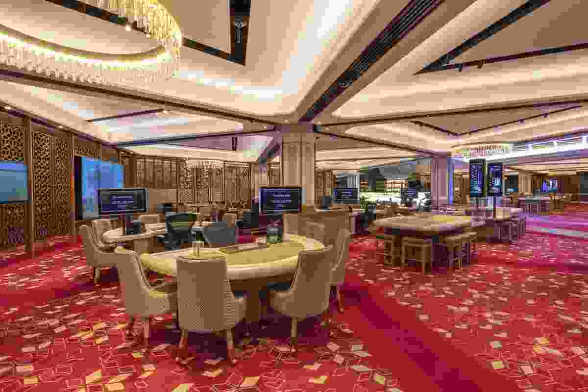 Casino Canberra Refurbishment by Cox Architecture.
