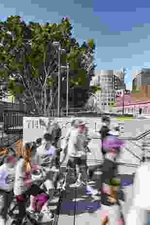The Goods Line by Aspect Studios, Sydney Harbour Foreshore Authority, CHROFI and Gartner Rose.