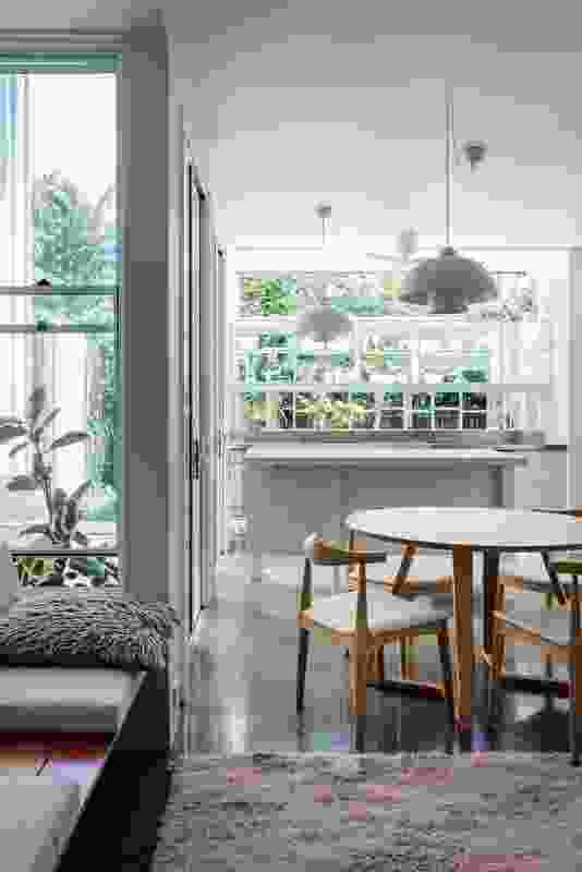 The economically planned interiors present an articulate but spare simplicity.
