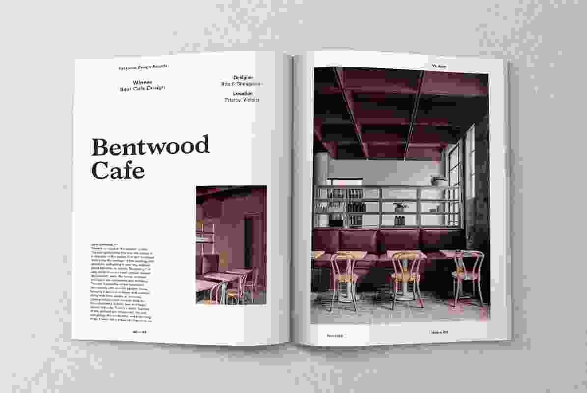 Inside Artichoke issue 65.