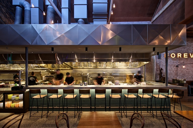 Hawker Hall by Craig Tan Architects with Bergman and Co and Samantha Eades Design.