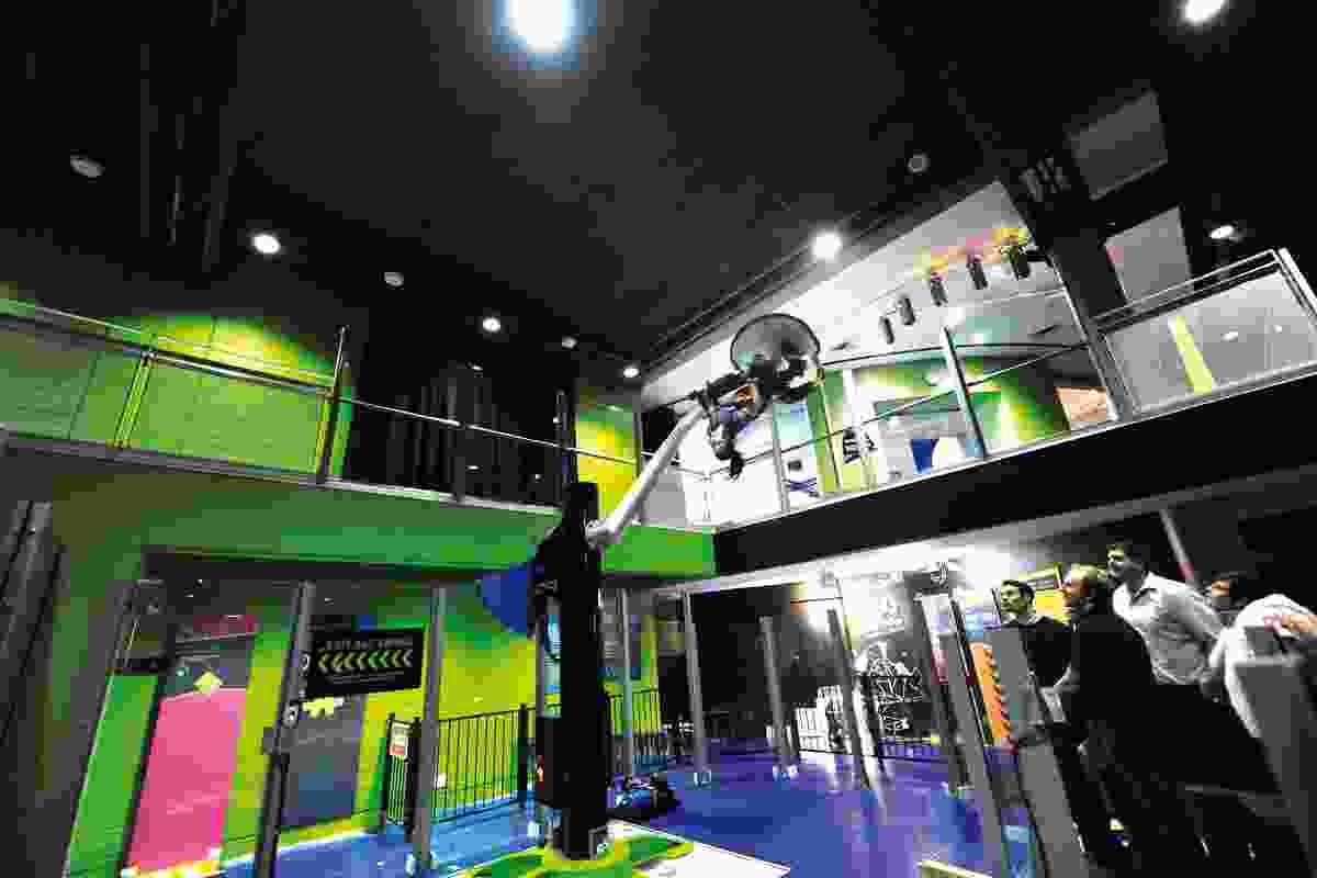 360∘ Swing by Exhibition Studios.