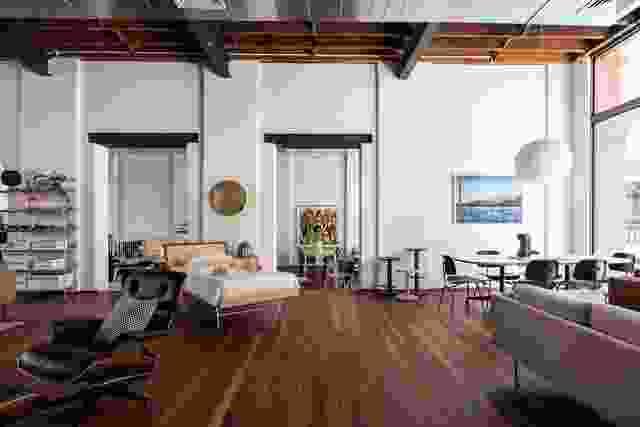 Living Edge Perth陈列室设计由Hassell和Taylor Robinson Chaney Broderick设计。