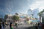 Development application for $89m 'giant stair of crystalline blocks' in Parramatta lodged