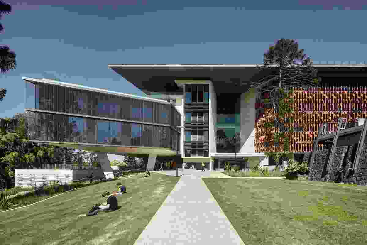 Brisbane Open House: Advanced Engineering Building at UQ by Richard Kirk Architect and Hassell in joint venture.