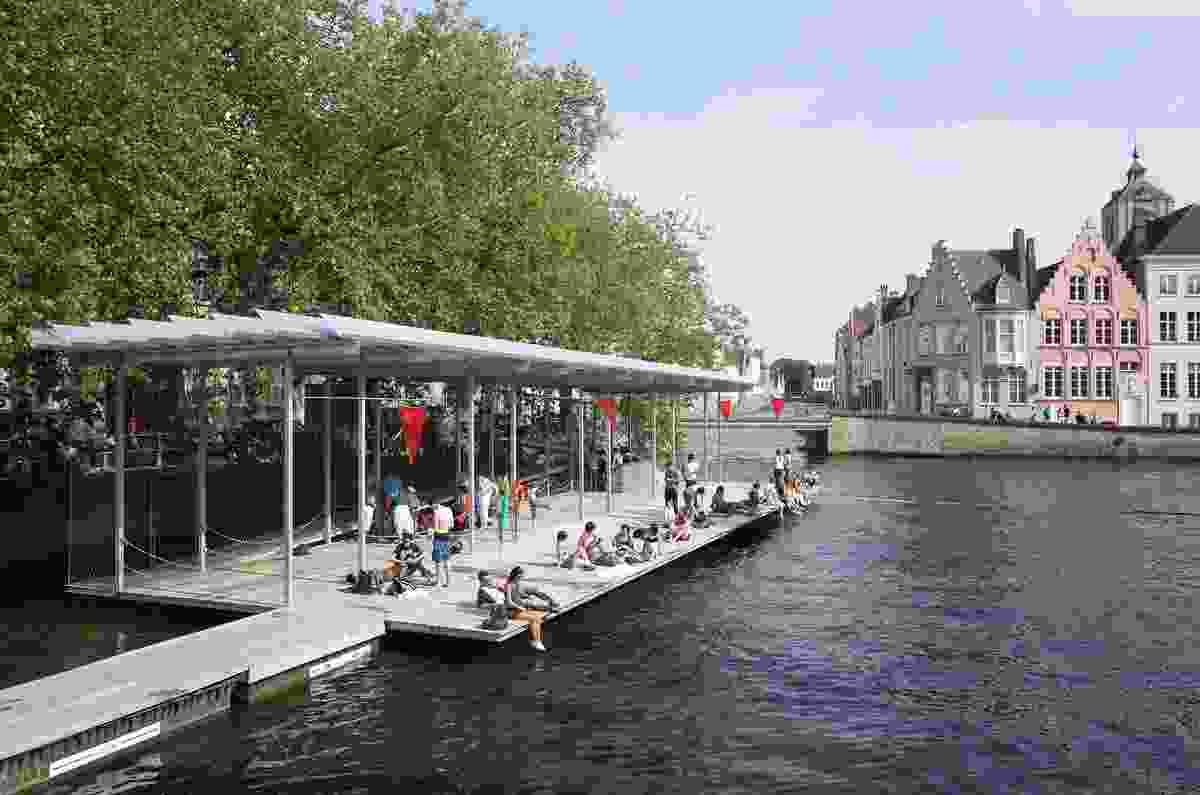 Canal Swimmers club by Atelier Bow-Wow.