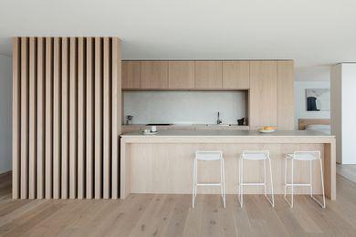 Cremorne Point Apartment by Studio Plus Three.