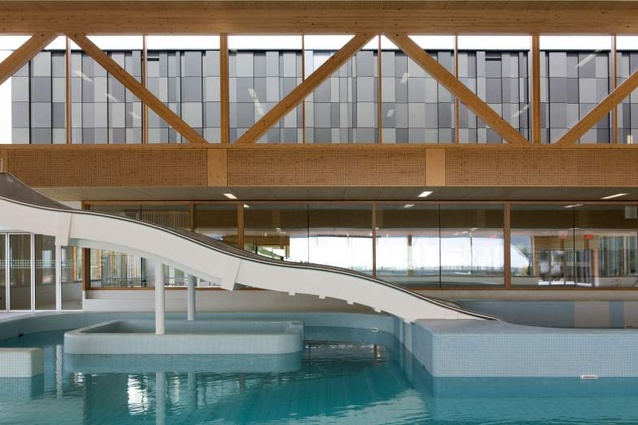 Slangen + Koenis Architecten's Geusseltbad swimming pool in Maastricht.