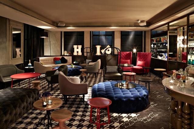 Members' Lounge.
