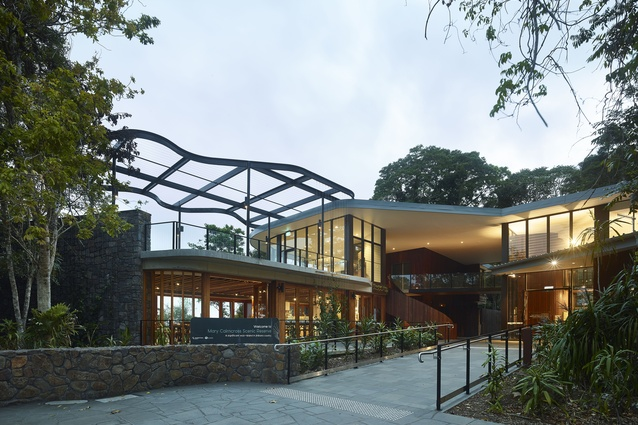 Mary Cairncross Scenic Reserve by Guymer Bailey Architects.