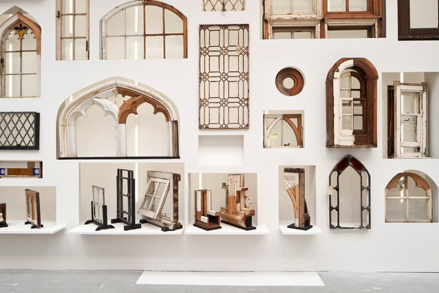 The Brooking National Collection of historical windows, part of <i>Elements of Architecture</i>.