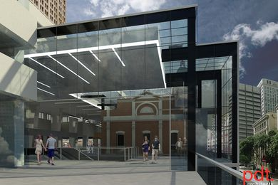 The Brisbane Central Station renewal by PDT Architects.