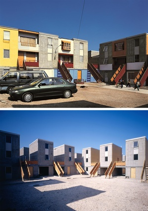 Quinta Monroy Housing, 2004, Iquique, Chile by Elemental
