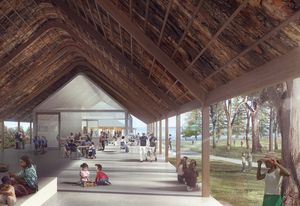 Kamay Botany Bay National Park, Kurnell masterplan by Neeson Murcutt Architects and Sue Barnsley Design.