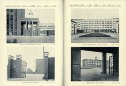"""""""Lessons from Modern German Architecture"""", Eric Garthside's report from his time as a travelling scholar. Architecture, July 1934."""