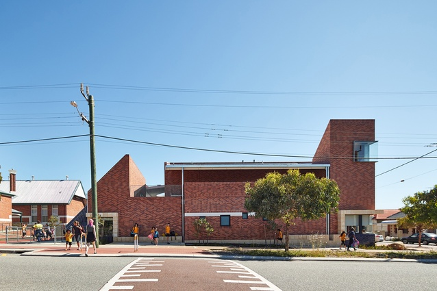 Highgate Primary School New Teaching Building by Iredale Pedersen Hook Architects.
