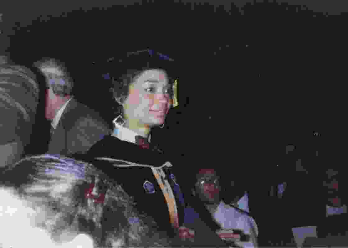 Graduating with a PhD in Psychology from the City University of New York in 1982.