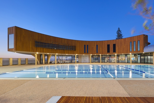 Scarborough Beach Pool by Christou Design Group.