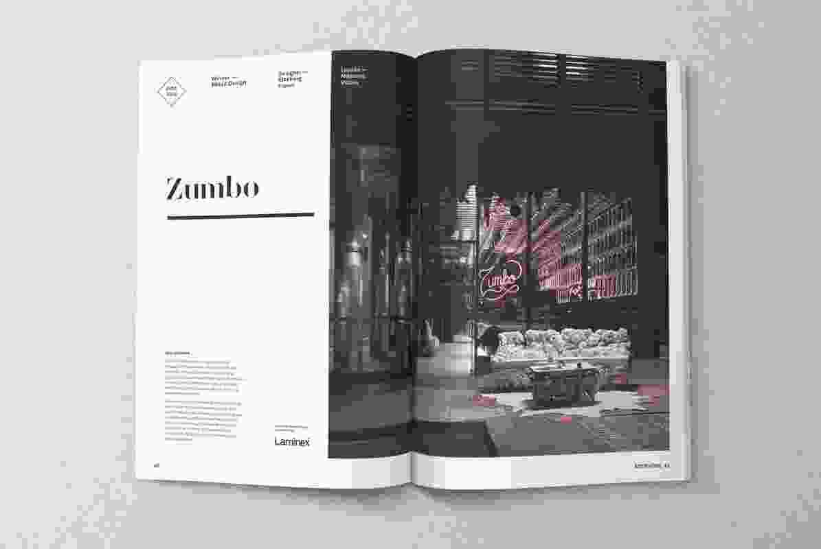 Zumbo Melbourne by Elenberg Fraser, winner of the Retail Design category at the 2014 Australian Interior Design Awards.