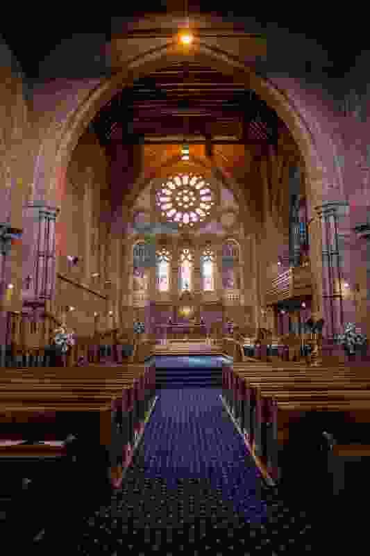 Holy Trinity Church, designed by Alexander North.