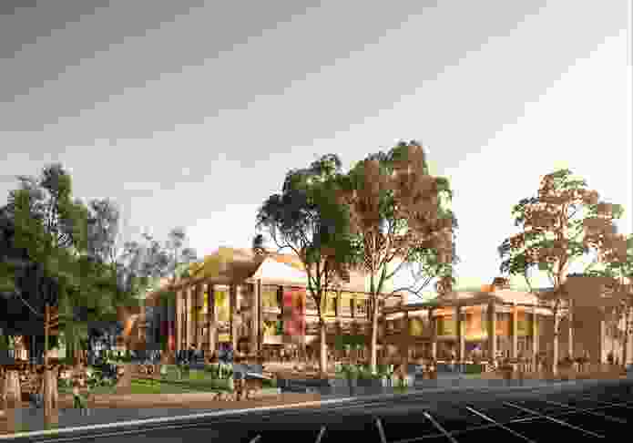 Proposal for the refurbishment of the Sutherland Entertainment Centre by FJMT.