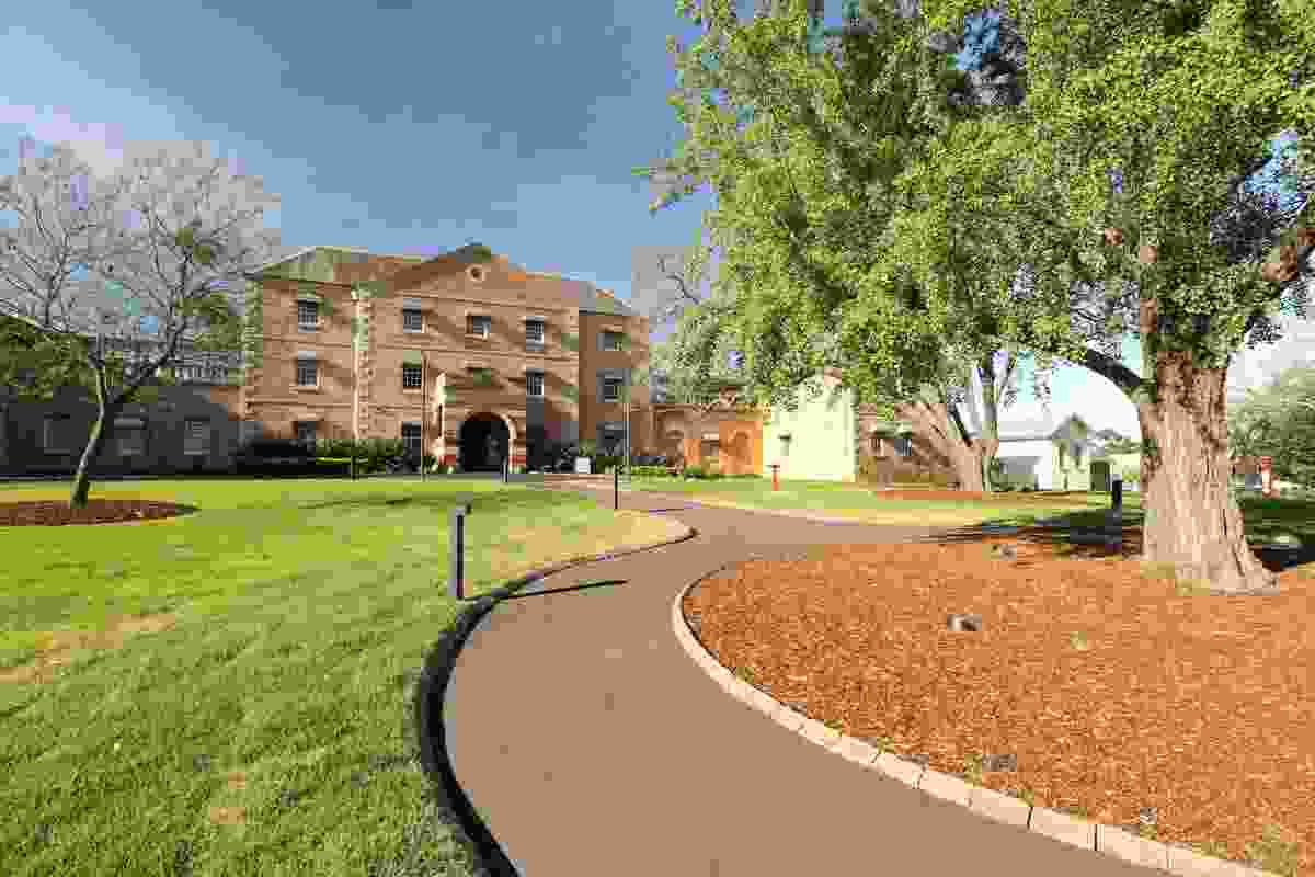 Female Orphan School, UWS Parramatta by Tanner Kibble Denton Architects.