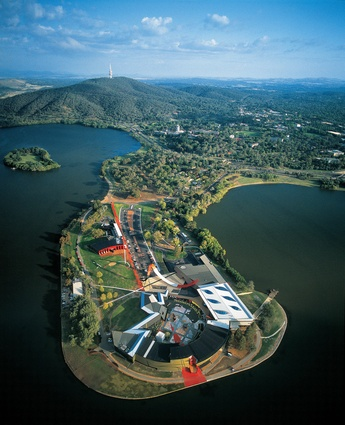National Museum of Australia, Canberra (2000, joint venture with Peck von Hartel Trethowan).