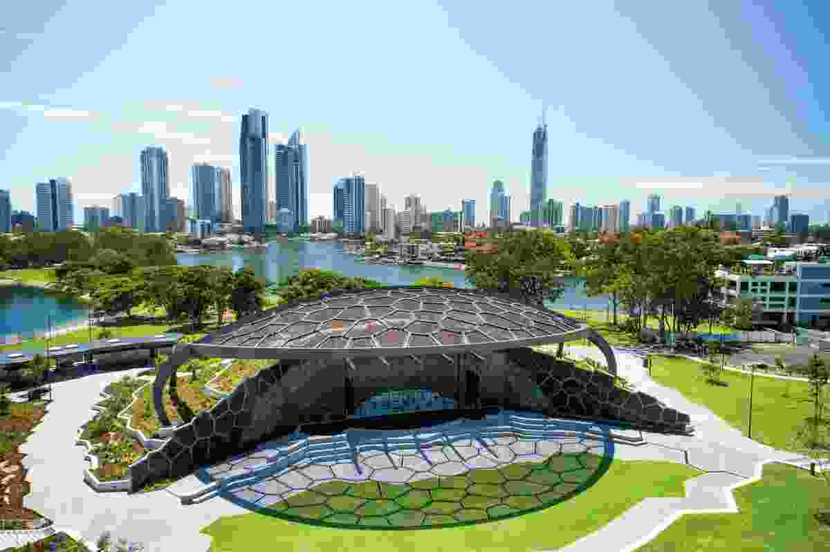 In 2013, ARM Architecture and Topotek 1 won the Gold Coast Cultural Precinct design competition. The first stage of the project, now known as Home of the Arts, is the Outdoor Stage completed in 2018.
