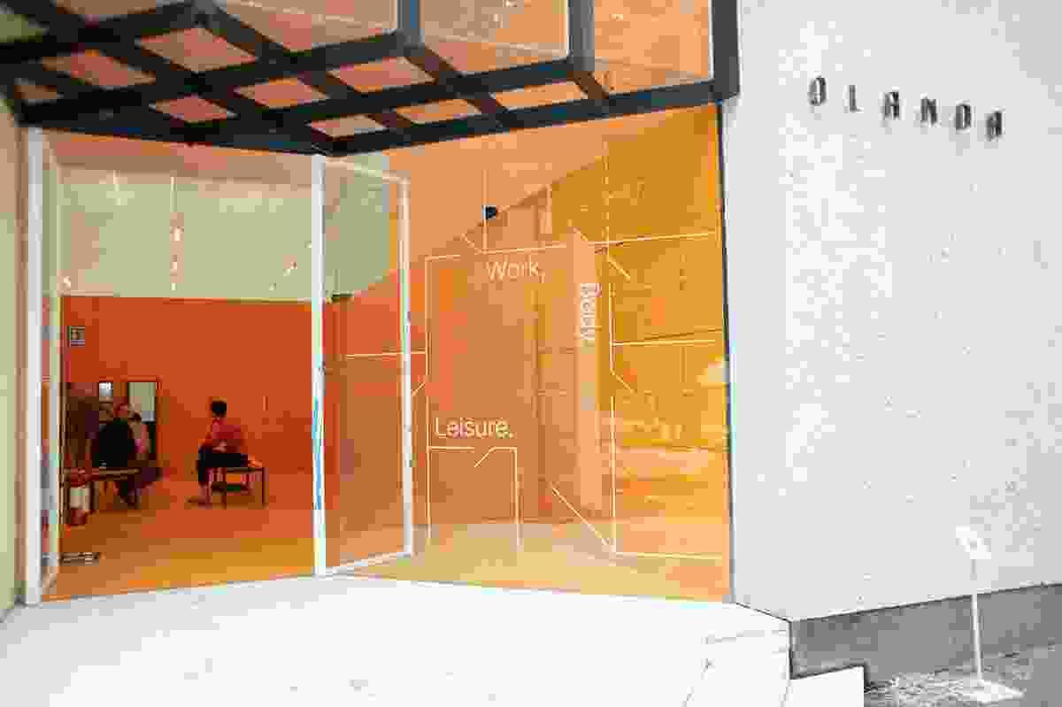 Netherlands pavilion: Work, Body, Leisure by Marina Otero Verzier.
