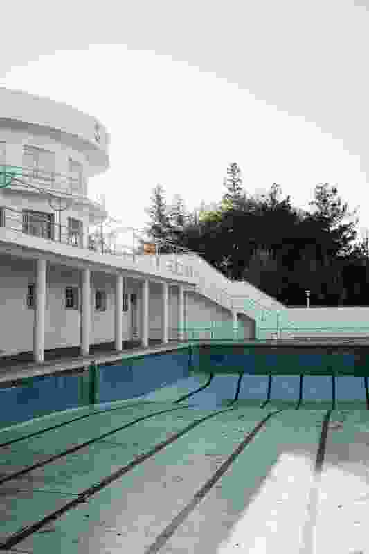 """The Piscina-Club Stella """"was conceived of as an urban oasis for the high society of Madrid back in the day."""""""