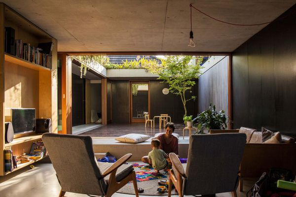 Laneway House by Jon Jacka Architects was presented at an Our Houses event in 2018.