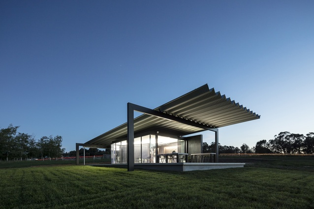 Montoro Wines Cellar Door by Source Architects.